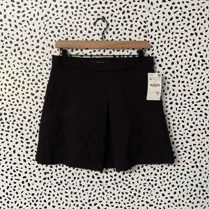 NWT Zara Basic Brown Mini Skort